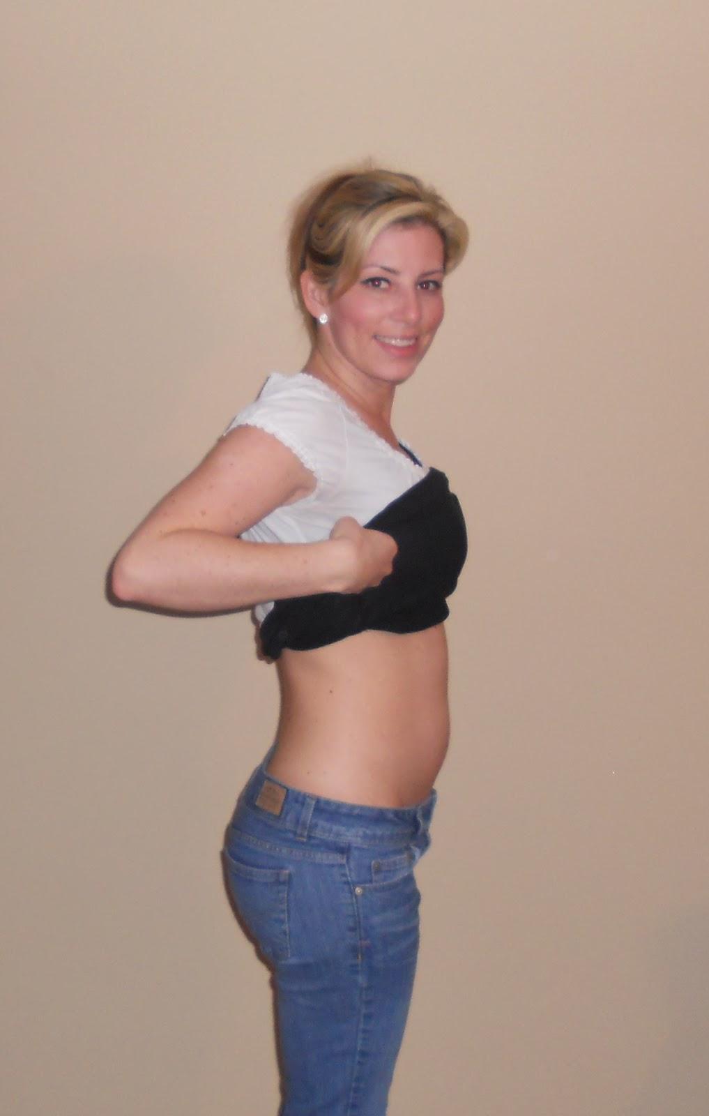 10 weeks belly