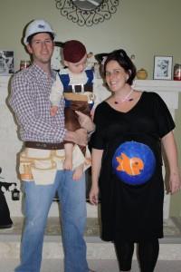 Pregnant Cat Costume