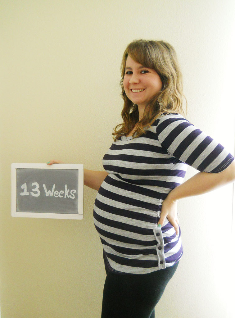 9 Weeks Pregnant Pictures Belly and Stomach Ultrasound