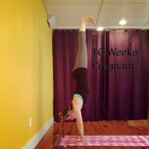 16_Weeks_Pregnant_Handstand_2nd_pregnancy