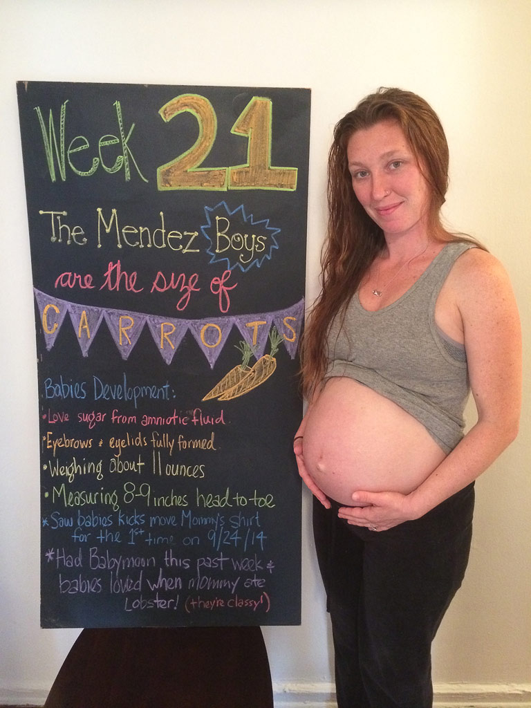 21 weeks pregnant with twins – The Maternity Gallery