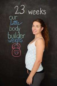 4 months pregnant