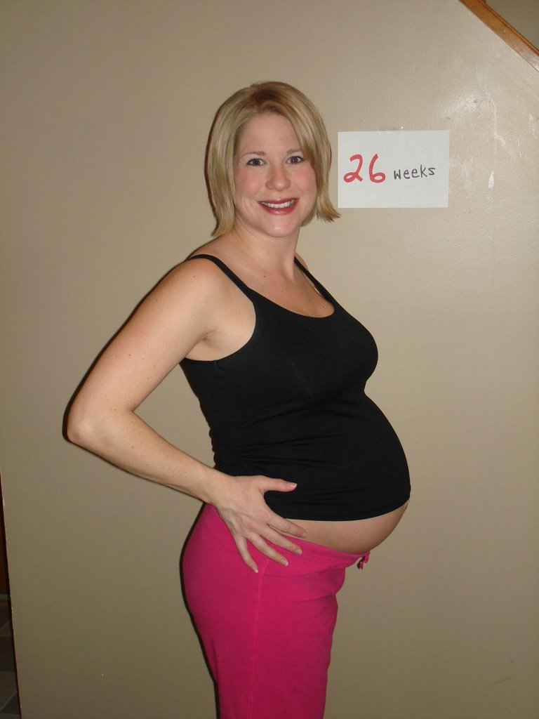 Very hot. 26 weeks pregnant belly photos kannste den
