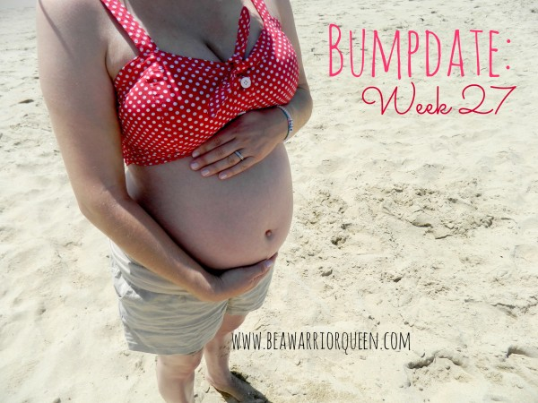 pregnant bikini