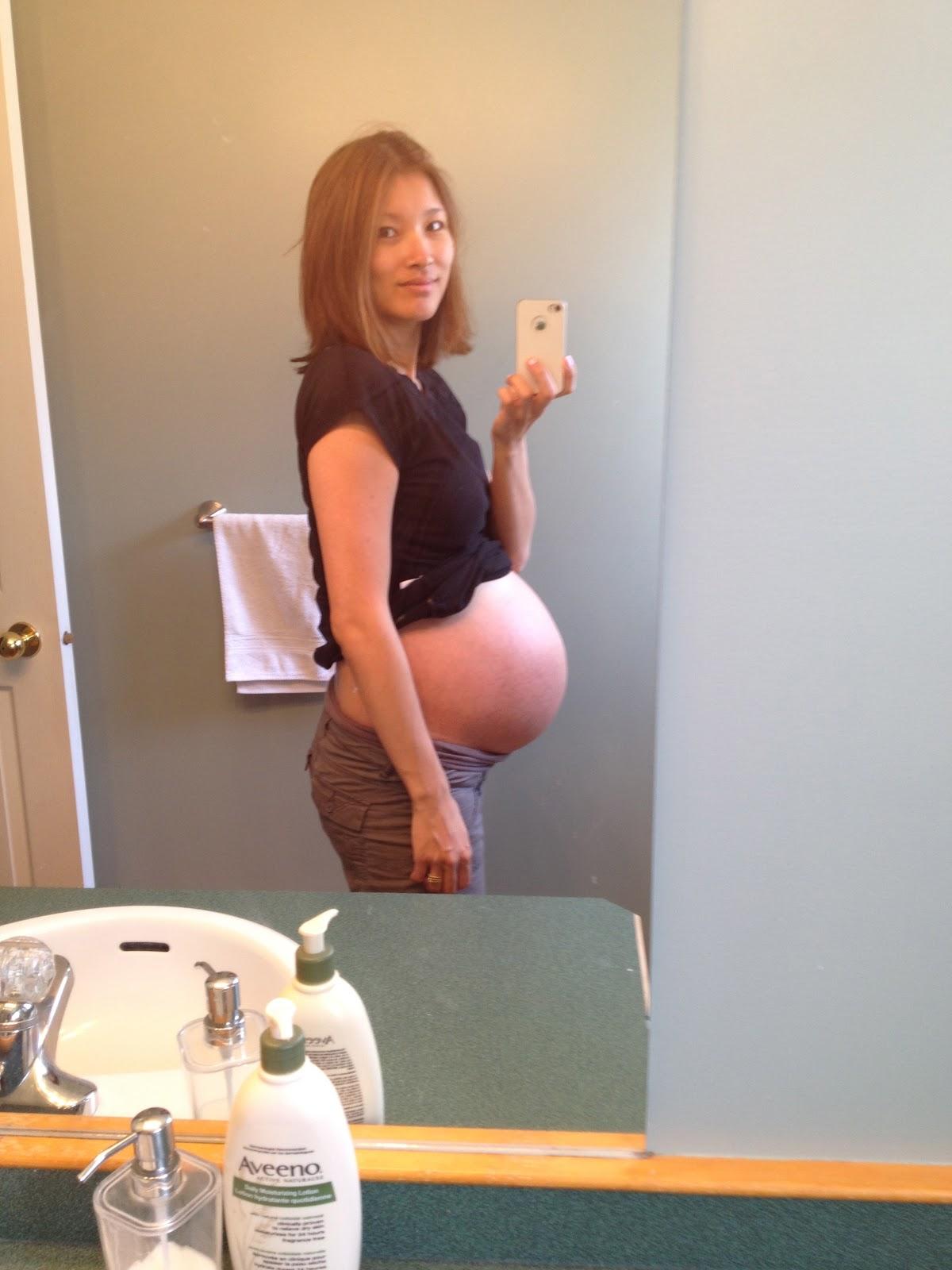 Triplet Pregnant 55