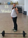 33 weeks pregnant workout