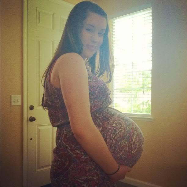 Necessary pregnant belly progression