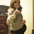 38 week bump pictures