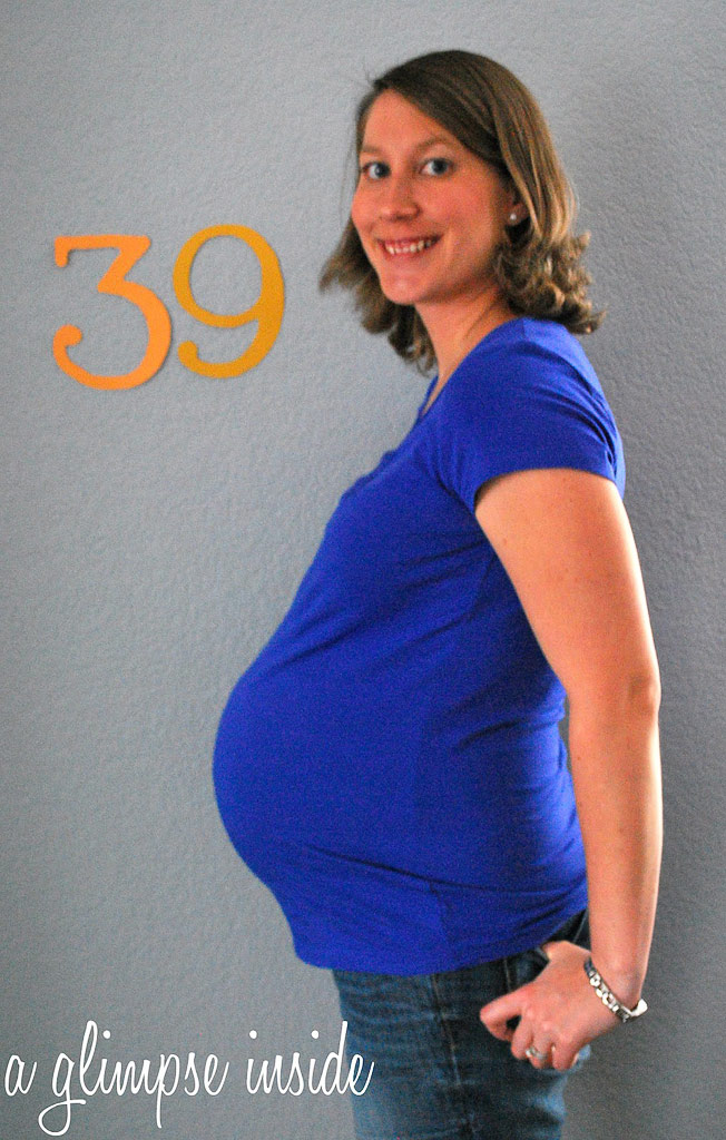 39 weeks pregnant – The Maternity Gallery