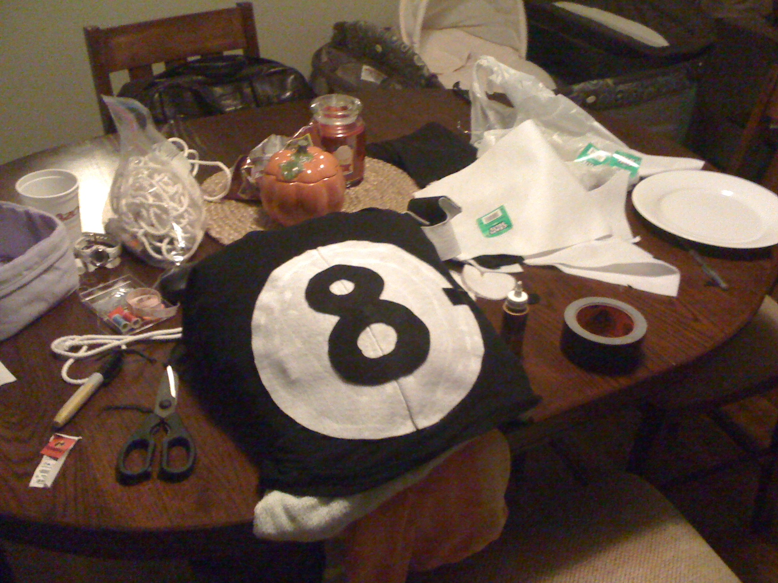 pregnant costume idea posted in pregnant costumestagged eight ball belly - Magic 8 Ball Halloween Costume