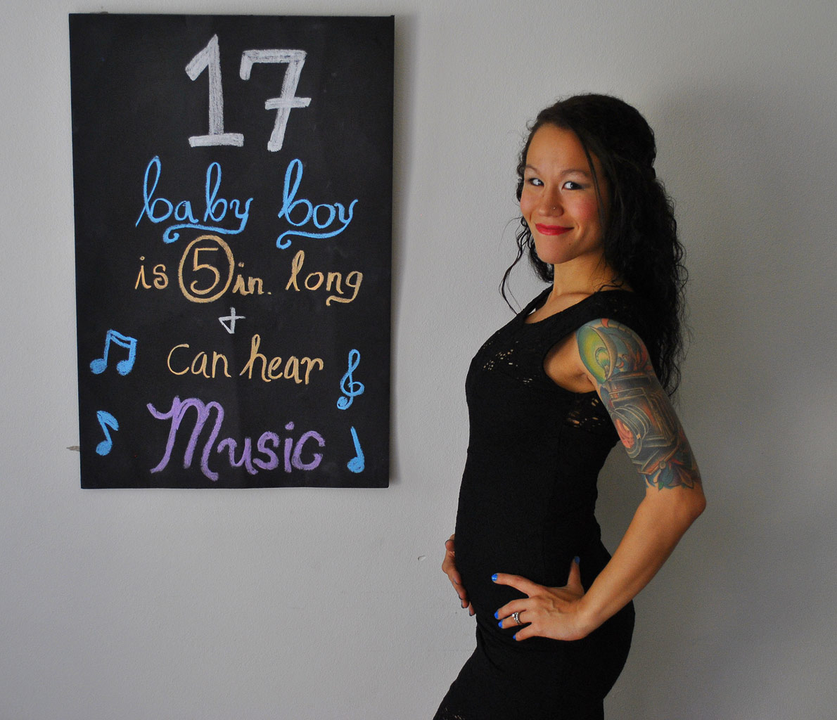 17 weeks pregnant – The Maternity Gallery