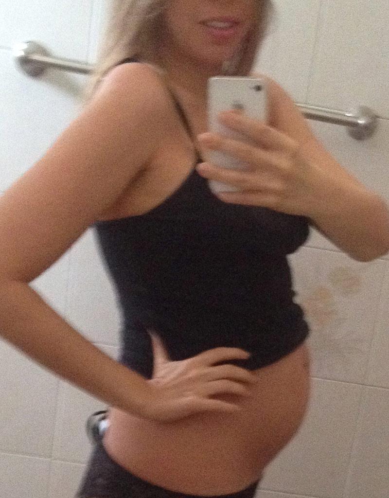 23 недели беременности животов