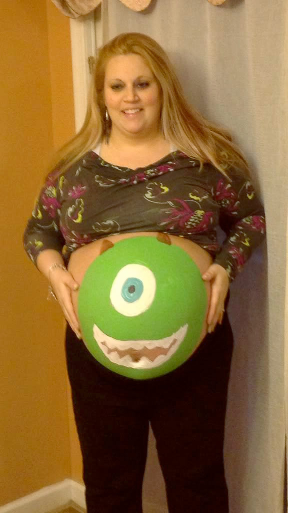 Mike Wazowski Belly 2