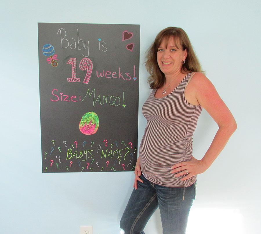 baby bump 19 weeks
