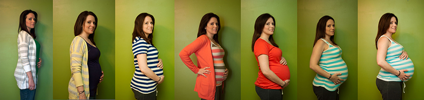 week by week pregnancy pictures