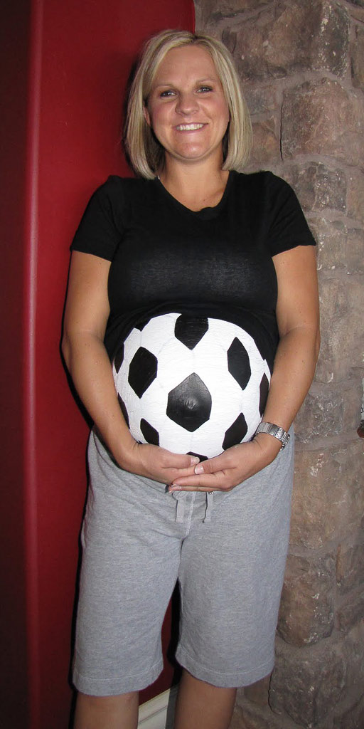 pregnant halloween belly - Pregnant Halloween Painted Bellies
