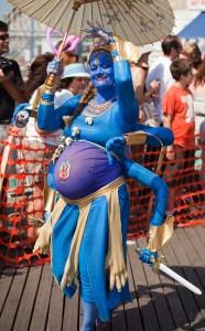 Fertility Goddess costume