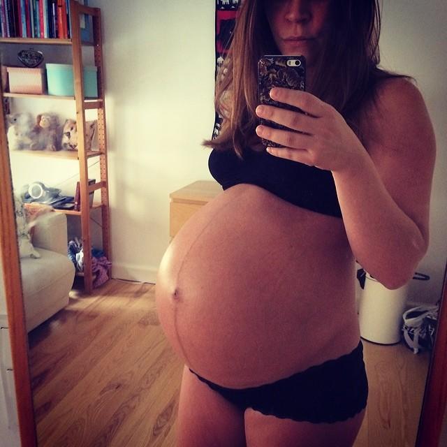 gravid mave uge 16