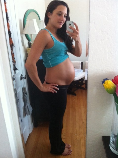 26 week belly