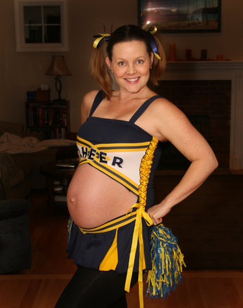 pregnant cheerleader  sc 1 st  The Maternity Gallery & Pregnant Halloween Costume Ideas u2013 The Maternity Gallery