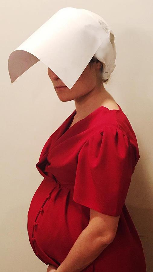 pregnant handmaid costume