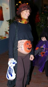 halloween belly painting