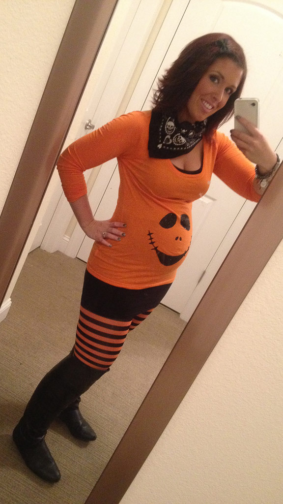 Halloween Maternity Shirt