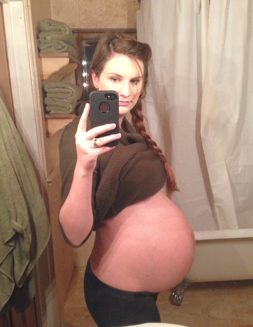 For Pregnant teen selfie were not