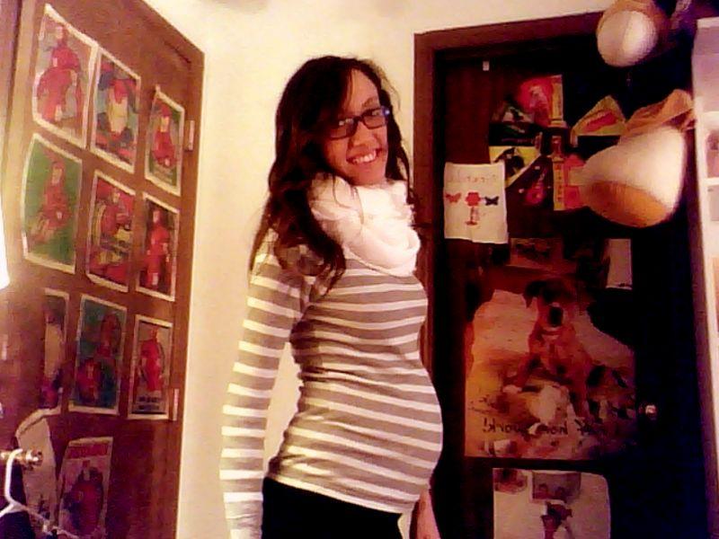 Фото живота на 23 неделе беременности