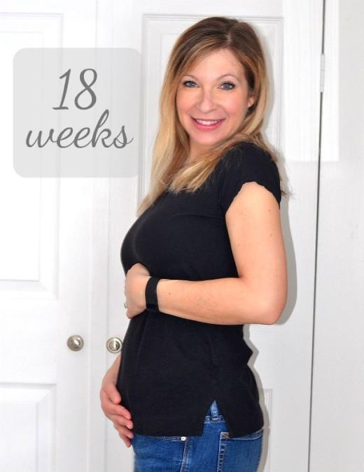 18 week belly