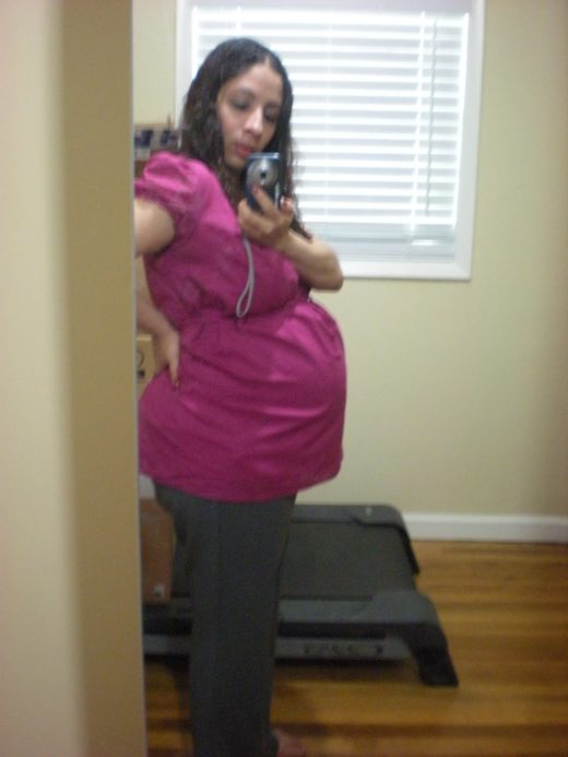 twin belly size