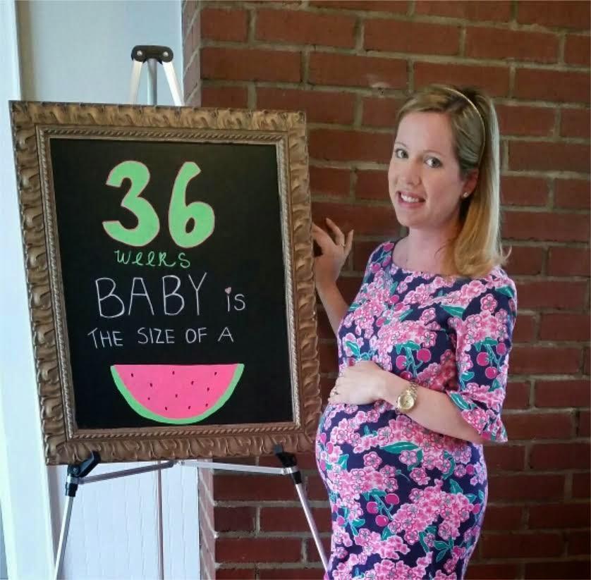 36 weeks preggo