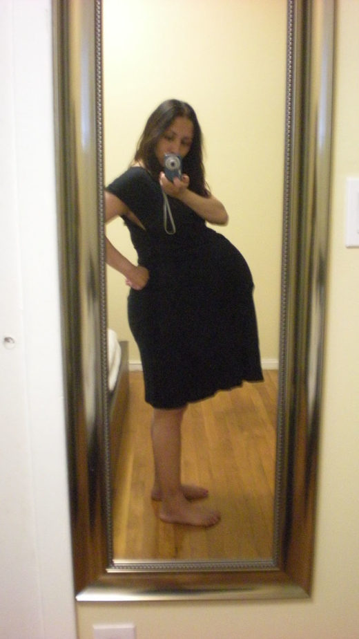 How big is a twin belly at 36 weeks?
